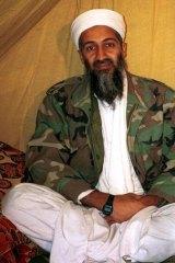 Al-Qaeda leader Osama bin Laden, in Afghanistan.