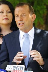 """""""I am not going to ignore an audience of half a million people in Sydney"""" ... Tony Abbott."""