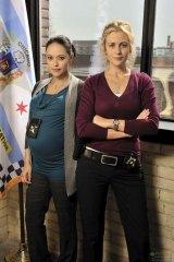 Marisa Ramirez and Rachel Carpani satr in <i>Against The Wall</i>.