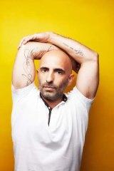 Taking a break from spring ... Sydney Dance Company artistic director Rafael Bonachela.