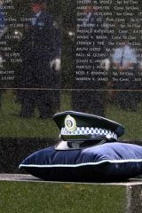 Lest we forget ... Police Remembrance Day.