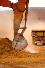 Work drying up ... weaker mining conditions have prompted the ANZ to forecast more interest rate cuts for 2013.