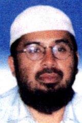A Malaysian police photo of Encep Nurjuman, also known as Hambali or Riduan Isamuddin.