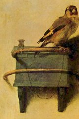 Work of art: <i>The Goldfinch</i>, by Carel Fabritius, plays a crucial part in Donna Tartt's new novel.