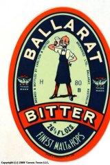 The Ballarat Bitter emblem.