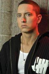 More familiar: Eminem.