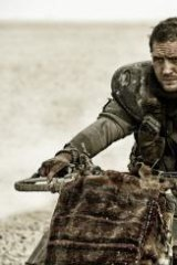 Taking over ... Tom Hardy in <i>Mad Max Fury Road</i>.