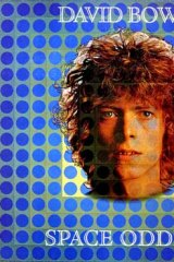 Album cover for Space Oddity.