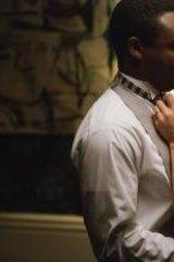 David Oyelowo as Martin Luther King jnr and Carmen Ejogo as Coretta Scott King in <i>Selma</i>.