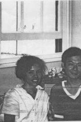 Grace Clague, Humphrey Xu and Helen Liu.