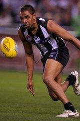 Andrew Krakouer... targeted by St Kilda supporter.