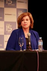Teresa Gambaro told the Brisbane forum at the House of Power event that she now supports marriage equality.