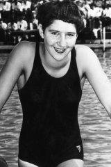 Top of the list ... Australia's Dawn Fraser.