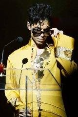 Prince in New York in 2009.