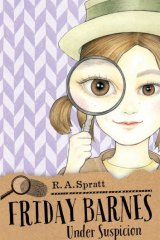 <i>Friday Barnes 2: Under Suspicion</i>, by R. A. Spratt.