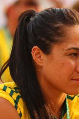 """""""I've been called a monkey ... and that is really upsetting"""": Mo'onia Gerrard."""