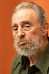 Old foes ... US animosity still burns towards Cuba and its former leader Fidel Castro.