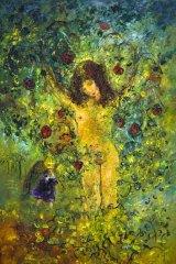 David Boyd's <em>The Goddess of Fruit and Bishop</em>, 1971.