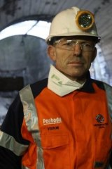 """Coal is good for humanity"": Tony Abbott."