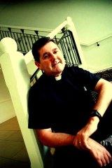Pressure ... Father Chris Riley.