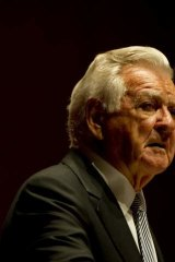 Costly decision: Former prime minister Bob Hawke lost substantial popularity after introducing Medicare co-payments.