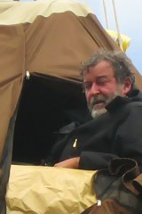Peter Spencer enters the 42nd day of his hunger strike.