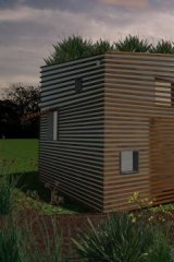 Bondor's Eco-Cubby, designed by architect Fraser Paxton.