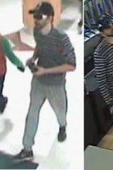 Police are searching for this man in relation to an armed robbery at Shiels in Phoenix Park Shopping Centre.