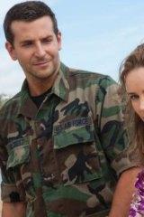 Potential flop: Bradley Cooper, left, and Rachel McAdams in <i>Aloha</i>.