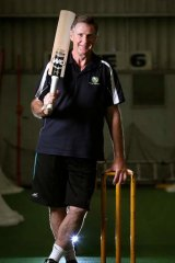 Defined by an era: Graham Yallop has coached young cricketers since his Test career ended three decades ago.