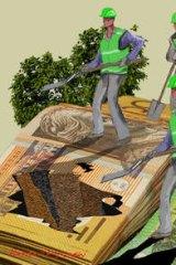 Illustration: Rocco Fazarri.