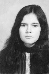 Jungle girl … Marina Chapman, aged 17.