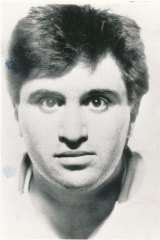 Portrait of Frank Vitkovic, the Queen Street shooter.