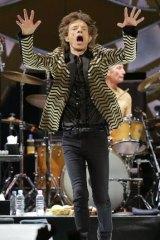 Jumping Mick Jagger.