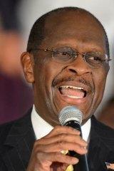 Herman Cain on Friday.