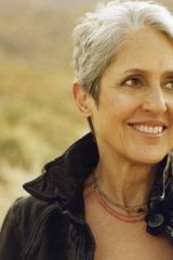 Joan Baez is coming to perform in Canberra.