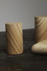 Max Lamb's sandstone furniture.
