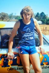 Shane Charter as a skinny youth.