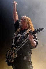Thrash metal: Jeff Hanneman founded Slayer.