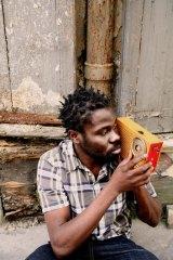 French-Nigerian 'party guy' Fefe.