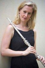 Emma Sholl, associate pricipal flute, Sydney Symphony.