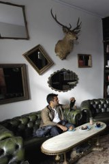 Secret seclusion … The Little Marionette reading room.