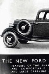 Curious hybrid: Ford Coupe Utility.