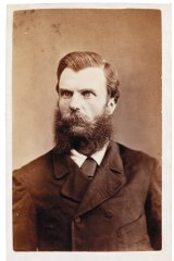 Sideshow Alley: Andrew George Scott, alias Captain Moonlite, c.1879 attributed to Charles Nettleton.