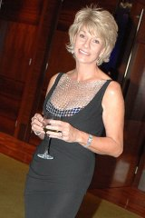Perth socialite and businesswoman Rhonda Wyllie.