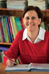 Principal Frances Clarke.