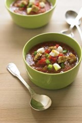 Gazpacho … a dish best served cold.
