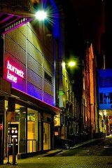 Burnett Lane, in Brisbane's CBD.