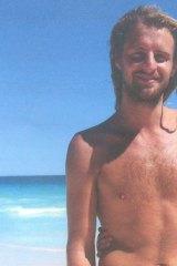 Martin Tann's belongings were found on the beach.
