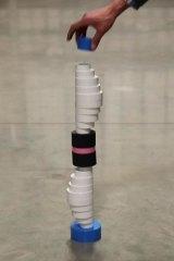 Oscar Capezio's <i>Interim-sculpture (That should work for now) </i>(video still), 2013.